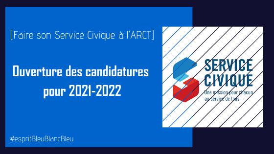 Faire son Service Civique à l'ARCT : ouverture des candidatures pour 2021-2022