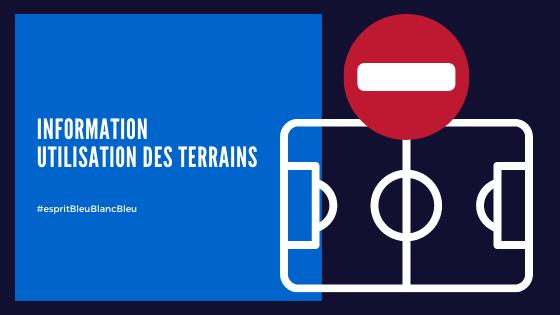 INFORMATION OCCUPATION DES TERRAINS