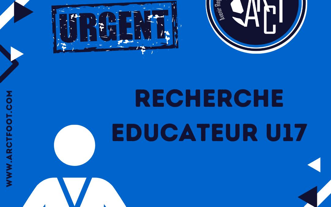 Recherche Educateur